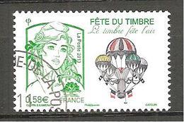 France N° 4809 Fête Du Timbre 2013 - Le Timbre Fête L'air Marianne De Ciappa Et Kawena Oblitéré - Oblitérés