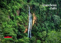 Malawi Manchewe Waterfalls New Postcard - Malawi
