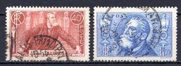 1936 FRANCE JEAN JAURES MICHEL: 324-325 USED - Gebraucht