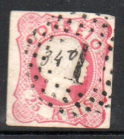 N° 12 Rose ( IV ) - 1855 - 56 - 1855-1858 : D.Pedro V