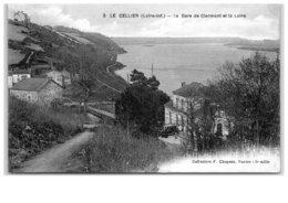 LE CELLIER LA GARE DE CLERMONT ET LA LOIRE - Le Cellier