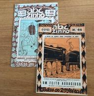 2 X Revistas ABC ZINHO Direcção E Desenhos COTTINELLI TELMO - CARTOON Brito Pais E Sarmento Beires 1924 LISBOA Portugal - Libros, Revistas, Cómics