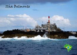 Brazil St Peter And St Paul Rocks Belmonte Island Lighthouse New Postcard Brasilien Leuchtturm AK - Phares