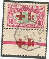 81A Timbre Surchargé     Magnifique Cachet   (pag9) - Isola Di Rèunion (1852-1975)