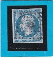 N° 14A    PC  52  ALTKIRCH  ( 66 )  HAUT-RHIN   - REF 14112 - IND 5 + Variété - 1853-1860 Napoleon III