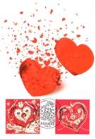 Carte Maximum YT 4717 Et 4718, De Tout Coeur Saint-Valentin Hermès, 1er Jour 25 01 2013 Paris 75 TBE Mode, Couture - Cartes-Maximum