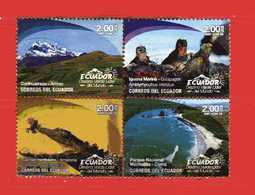 (Us3) Ecuador °- 2018 - DESTINO VERDE LIDER Del MUNDO  -  Used. - Ecuador