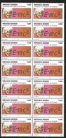 J) 1979 MEXICO, BLOCK OF 14, ALBERT EINSTEIN (1879-1955), THEORETICAL PHYSICIST, EINSTEIN AND HIS EQATION, SCOTT C592, M - Mexico
