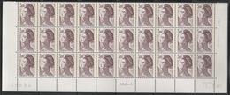 2243  3f. BRUN-VIOLET  GOMME MATE - LIBERTE De GANDON - BAS De FEUILLE De 30- TD6-5 Du 12.1.87 - 1982-90 Liberty Of Gandon