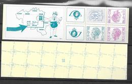 Boekje 12 * *  Postfris Zonder Scharnier   Met En Zonder Telvierkant - Carnets 1953-....