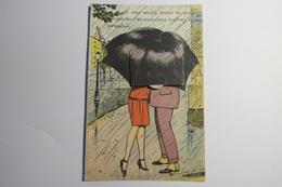 """Cpa A Systeme Couleur Chateauroux """"Si Vous Voulez Savoir Ce Que Regarde Les Amoureux"""" 1932 - TOR40 - Chateauroux"""