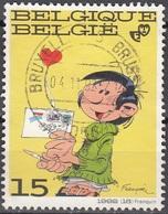 Belgique 1992 COB 2484 O Cote (2016) 0.35 Euro Gaston Lagaffe Cachet Rond - Gebraucht