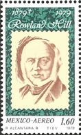 J) 1979 MEXICO, SIR ROWLAND HILL (1795-1879), ORIGINATOR OF PENNY POSTAGE, ROWLAND HILL, SCOTT C593, MN - Mexico