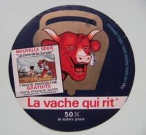 """Etiquette Fromage Fondu - Vache Qui Rit - Bel Portion 170g Pub """"Le Livre De La Jungle"""" Walt Disney   A Voir ! - Cheese"""