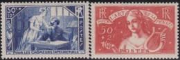 France     .    Yvert    .    307/308     .     **     .    Neuf SANS Charniere   .   /   .  MNH - France
