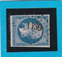 N° 14A   PC  1183   EPERNAY   ( 49 )  MARNE  - REF 14112 + Variété- - 1853-1860 Napoléon III.