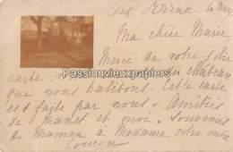 CARTE PHOTO SAINT ALBAN D'AY 1900 LE CHATEAU DES RIEUX - Autres Communes