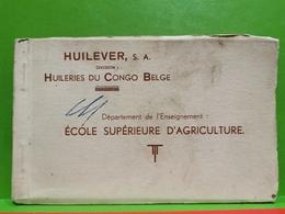 Carnet, Huilever, S. À. Congo Belge. Complet - Belgian Congo - Other