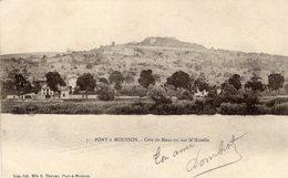 Pont A Mousson  -  Cote De Mousson Sur La Moselle -  CPA - Pont A Mousson