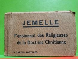 Carnet, Jemelle, Pensionnat Des Religieuses De La Doctrine Chrétienne, 15 CP . Complet. Rare !!! - Rochefort