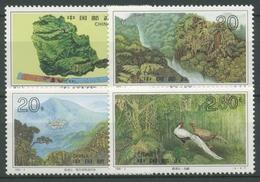 China 1995 Naturschutzgebiet Dinghu-Berge Wald Fasan 2591/94 Postfrisch - 1949 - ... Volksrepublik