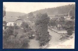54. Longuyon. La Chiers. A Droite, Cheminée D'usine. Ca 1900 - Longuyon