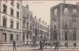Liège. Maisons Détruites Pendant La Guerre, Août 1914 August - WWI WW1 World War 1 I - - Weltkrieg 1914-18