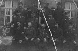 14 NEUILLY LA FORET / CARTE PHOTO / 1914 - 1915 / POSTE GVC / 36e RI ( CAEN ) ??? 36e REGIMENT D' INFANTERIE ??? - Other Municipalities