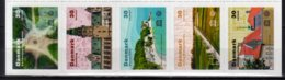 2020 Denmark - UNESCO World Heritage In Denmark - Strip Of 5 V S.adhesive MNH**  Runic Stones, Kronborg Castle, Sea, - Unused Stamps