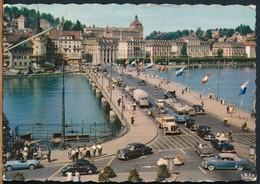 °°° 18050 - SWITZERLAND - LU - LUZERN - BAHNHOFBRUCKE °°° - LU Lucerne