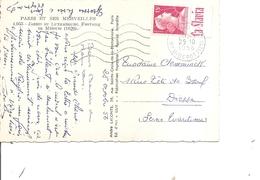 France ( CP De 1956 De Paris Vers Dieppe à Voir) - Advertising
