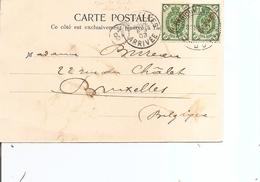 Levant Russe ( CP De 1903 De Constantinople Vers La Belgique à Voir) - Levante