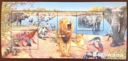 Botswana 2001 Wetlands Birds Animals Minisheet MNH - Briefmarken