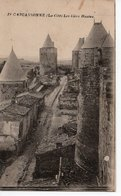 CARCASSONNE - LA CITE - LES LICES HAUTES - Carcassonne