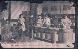 BACCARAT Pensionnat De Gondrecourt Une Leçon De Cuisine à L'Ecole Ménagère (Dans L'Etat) - Baccarat