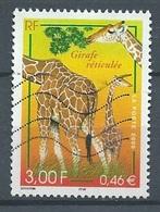 France YT N°3333 Girafe Réticulée Oblitéré ° - Gebraucht