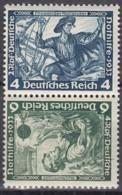 DR  SK 19, Postfrisch **, Nothilfe: Wagner 1933 - Se-Tenant