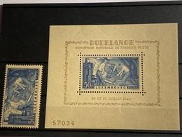 Luxemburgo (Hoja Bloque) Nº 6 . Año 1946. - Blocks & Sheetlets & Panes