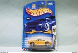 Hot Wheels - LAMBORGHINI MURCIELAGO - 2003 First Editions - Collector N°43 HOTWHEELS US Long Card 1/64 - HotWheels