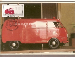 Portugal & Maximum Card, Postal Transport, Postal Ambulance, Lisbon 1995 (7955) - Other