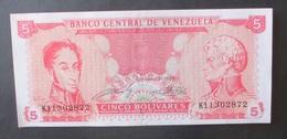 Venezuela 5 Bolivares 21 Settembre 1989 - Venezuela