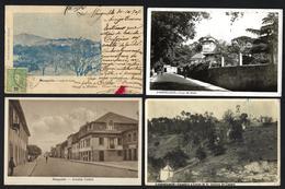 Conjunto De 4 Postais Antigos De MANGUALDE. Set Of 4 Old Postcard (VISEU) PORTUGAL - Viseu
