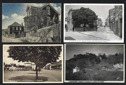 Conjunto De 4 Postais Antigos De MANGUALDE. Lot Of 4 Old Postcard (VISEU) PORTUGAL - Viseu