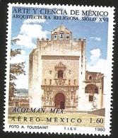 J) 1980 MEXICO, ART AND SCIENCE OF MEXICO RELIGIOUS ARCHITECTURE OF THE XVI CENTURY, ACOLMAN MEXICO, MN - Mexico