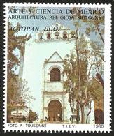 J) 1980 MEXICO, ART AND SCIENCE OF MEXICO RELIGIOUS ARCHITECTURE OF THE XVI CENTURY, ACTOPAN, HIDALGO, MN - Mexico