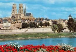 CPM - 45 - ORLEANS - La Loire Et La Cathédrale Sainte-Croix - Orleans