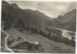 V4040 Courmayeur (Aosta) - Casolari In Val Veni / Viaggiata 1954 - Italia