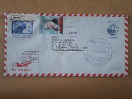 Pérou Enveloppe Envoyée Argentine 2005 - Pérou