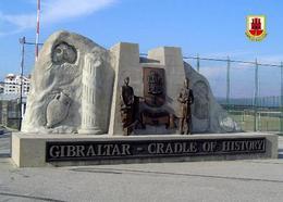Gibraltar Cradle Of History Monument New Postcard - Gibraltar