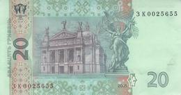 UKRAINE P. 120b 20 H 2005 UNC - Ucrania
